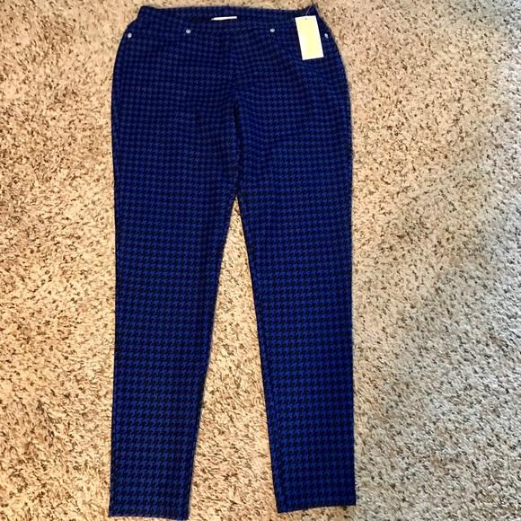 b405763283146 MICHAEL Michael Kors Pants   Michael By Michael Kors Blue Black ...